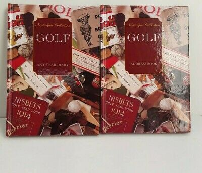 £4.99 • Buy GOLF Any Year Diary &Address Book New  Nostalgia Collection Books Gift Free P&p