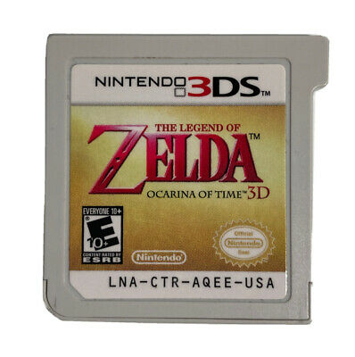 AU21.54 • Buy The Legend Of Zelda: Ocarina Of Time 3D (3DS, 2011) Cartridge Only Free Shipping