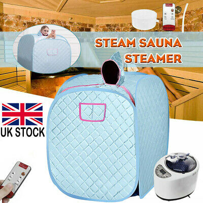 £56.98 • Buy Large Steam Sauna Spa Room Home Full Body Slimming Detox Therapy Tent Healthy UK
