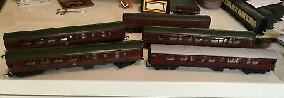 £26 • Buy Hornby 00 Gauge Coaches 4 Of And 1 Lima