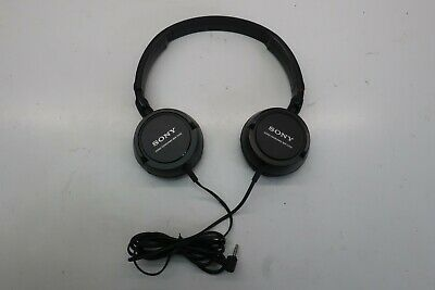 £7.98 • Buy Sony MDR-ZX100 Wired Black Stereo Headphone Over The Ear - Need Replacement Pads