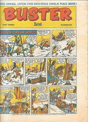 £3 • Buy Vintage Buster Comic March 13th 1971