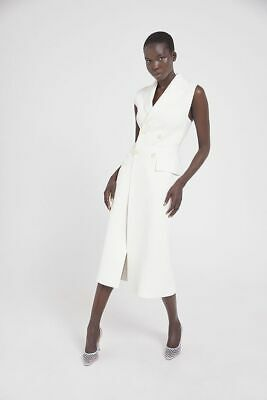 AU350 • Buy Brand New SCANLAN THEODORE Crepe Knit Long Couture Dress