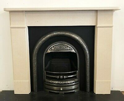£495 • Buy New Stone Surround Complete With Hi-lite Polished Victorian Style Insert