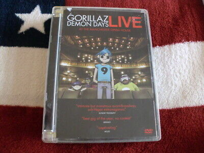£0.99 • Buy GORILLAZ: DEMON DAYS LIVE (DVD) ALL TIME CLASSIC MUSIC SHOW 99p