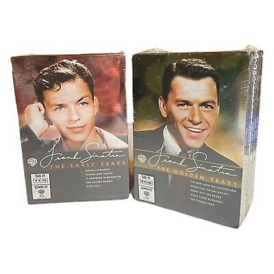 £16.34 • Buy LOT Frank Sinatra: The Early Years & The Golden Years Collection (DVD, 10 DVDS)