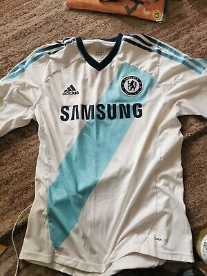 £8 • Buy Chelsea 2012/2013 Away Football Shirt Jersey Adidas Size L Adult