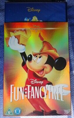 £12.99 • Buy Disney Fun And Fancy Free (DVD, 2002,) With Limited Edition O-ring Slipcover NEW