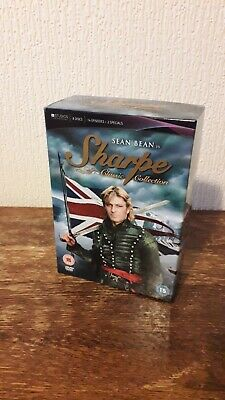 £5.50 • Buy Sean Bean Is Sharpe Classic Collection Boxset 8 Discs 14 Episodes 2 Specials