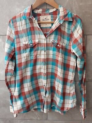 £4.99 • Buy Hollister Checked Shirt Blouse Size M
