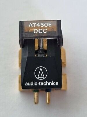 £10 • Buy Audio Technica AT450E OCC  Mm Cartridge - Bent Cantilever- Will Need New Stylus