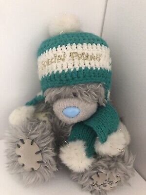 """£9.50 • Buy Me To You Tatty Teddy 6"""" Bear Soft Toy Special Friend Knitted Hat Scarf New Gift"""