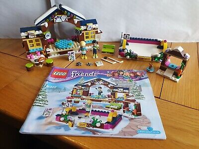 £9.99 • Buy Lego Friends Set: 41322 - Snow Resort Ice Rink - 100% Complete With Instructions