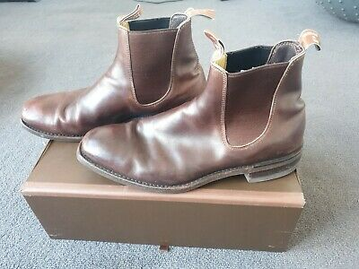 AU183.30 • Buy Mens Rm Williams Boots Size 10.5 Dark Brown