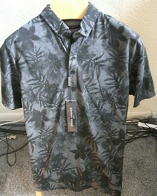 £9.50 • Buy Men's Polo Shirt - TROPICAL PRINT - M - GUIDE LONDON - NEW WITH TAGS