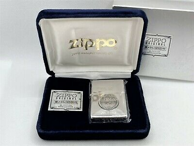 View Details Auth ZIPPO 1991 Limited Edition Silver 925 (Sterling) Medallion Lighter & Case • 130.70£