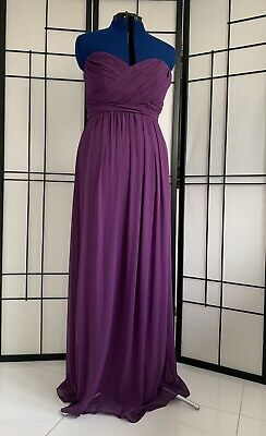 £40 • Buy Dessy Dress (African Violet-Size 12-2846) Cruise, Ball, Bridesmaid Prom Wedding