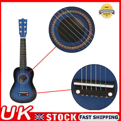 £12.99 • Buy 21  Childrens Kids Wooden Acoustic Guitar Musical Instrument Toy Xmas Gift Q6D5
