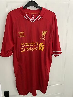 £15 • Buy Official 2013/2014 Liverpool Warrior Red Home Shirt Mens L