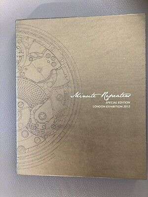 £79.99 • Buy Patek Philippe Minute Repeater London 2012 Exhibition Book Catalogue Immaculate