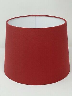 £10 • Buy **. SALE. Lampshade Tapered Terracotta Cotton Empire Light Shade