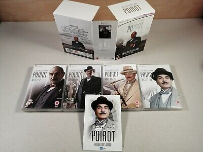£39.95 • Buy POIROT - THE COMPLETE COLLECTION (DVD Box Set) 11 Series 61 Episodes On 28 Discs