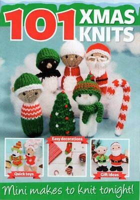 £1.99 • Buy Christmas Knitting Pattern Booklet For Cute Toys Decorations Includes Yarn Kit!