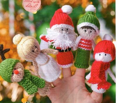 £1.30 • Buy (1614)  DK Christmas Toy Knitting Fab Finger Puppets/Tree Decorations!!!