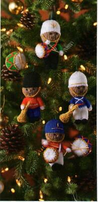 £1.40 • Buy (2275) DK Knitting Pattern For Adorable Christmas Soldier Tree Decorations!