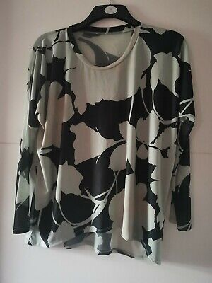 £4 • Buy POSTCARD FROM BRIGHTON Long-sleeved Loose-fit Top - Size 1 (8/10/12) - Mint