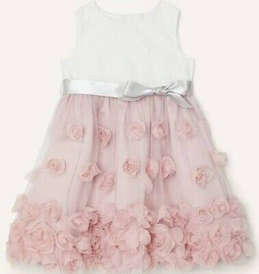 £9.90 • Buy Monsoon Flower Girl Dress Lanthe Only Worn For A Couple Hours