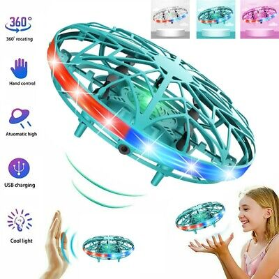 AU11.88 • Buy 360° Mini Drone UFO Aircraft Smart Hand Controlled For Kids Flying Toys RC Gift