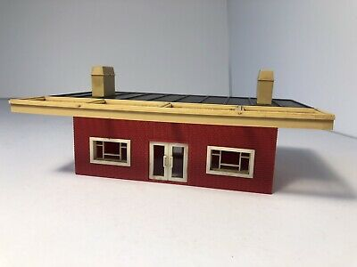 £9.95 • Buy Triang Oo Gauge Station Booking Hall Ticket Office R473  - Red Brick