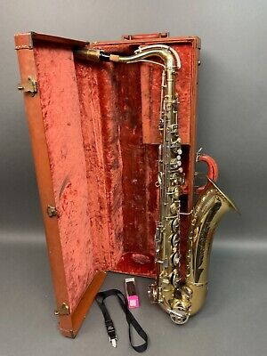 AU525.93 • Buy Conn 16M Shooting Star Tenor Saxophone With Case Scratches & Scuff Marks USED