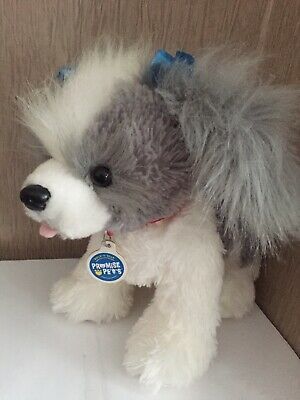 £14.50 • Buy Build A Bear Shih Tzu Dog With Blue Bows Promise Pets Collectable Gift