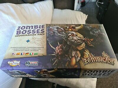 £17.80 • Buy Zombicide Black Plague Zombie Bosses Abomination Pack