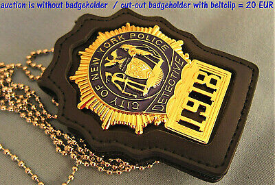 £29.42 • Buy Cc/ Collector Police Badge, Movie Prop, - Detective - City Of New York Police