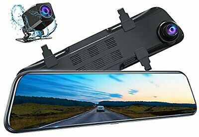 AU318.33 • Buy Kingslim DL12 Pro 4K Mirror Dash Cam 12  Front And Rear Dash Camera For Cars ...