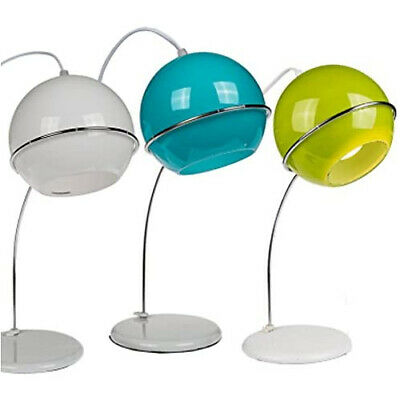 £19.95 • Buy Modern Glass Lamp Bedside Table Light Style Desk Home Office Shade Bright New