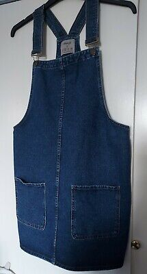 £7.50 • Buy Denim Co Pinafore Dress With Pockets Size 16