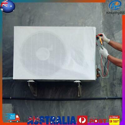 AU13.62 • Buy Outdoor Air Conditioner Cover Anti-Dust Waterproof Sunproof Cover (2p)