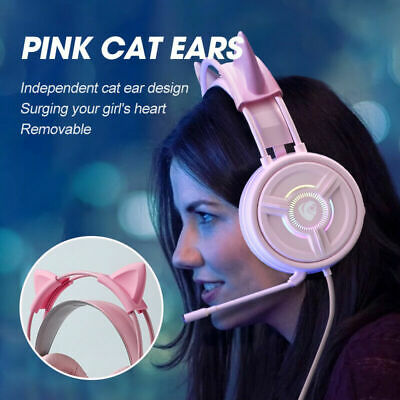 AU27.65 • Buy Noise Canceling Headset With Mic Gaming Headphones Fit For Xbox PS4 Wired