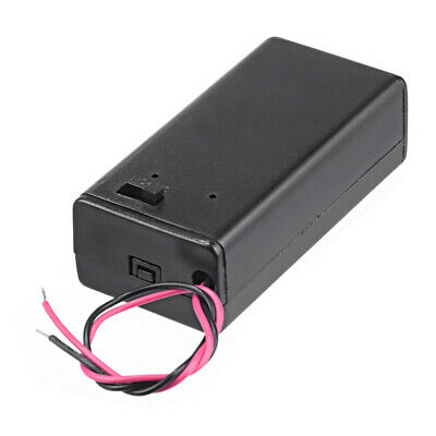 £2.09 • Buy 9V Battery Holder With Connection Wire Cable And On Off Switch PP3 Case Box 4C3
