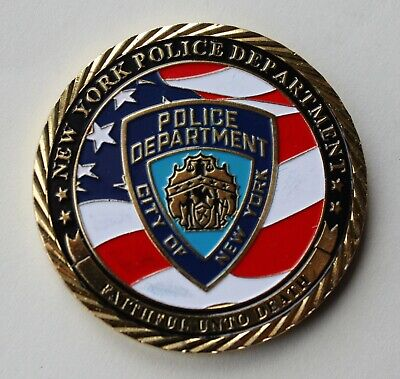 £12 • Buy US NYPD, New York Police Department Challenge Coin.