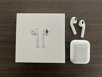 AU102.50 • Buy Apple AirPods (2nd Generation) Earphones With Wireless Charging Case - White...
