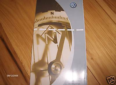 $8.59 • Buy 2005  VW Volkswagen  Jetta  Navigation Quick Ref. Owners Manual Supplement