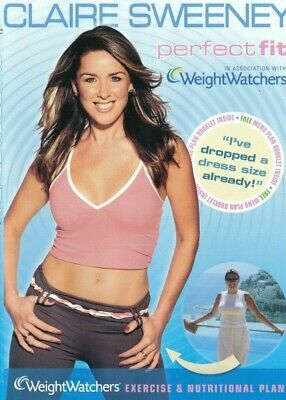 £2.95 • Buy CLAIRE SWEENEY Perfect Fit - Weight Watchers Excercise Fitness Plan DVD NEW