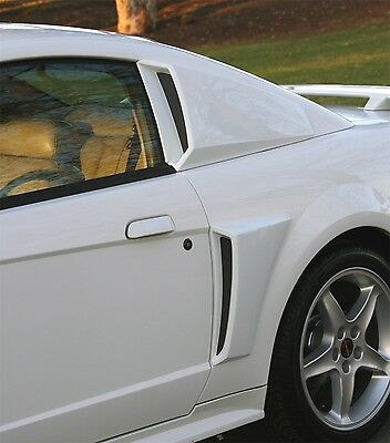 $189.95 • Buy 1999 - 2004 Ford Mustang Xenon Side Lower Body Scoops