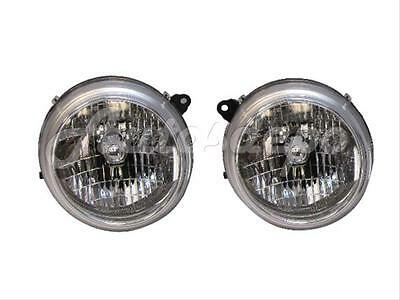 $84.97 • Buy For 02 03 04 Jeep Liberty Limited Headlight W/bulb Chr L+r