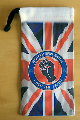Northern Soul Mobile Phone Wallet, Sunglasses Phone Wallet, Union Jack Wallet • 4.95£